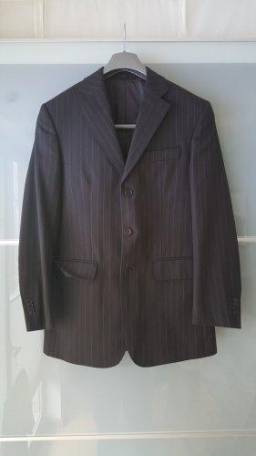 Herren Springfield Anzug Set Nadelstreifen Schwarz 46
