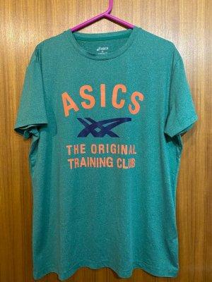 Asics T-shirt jasnozielony