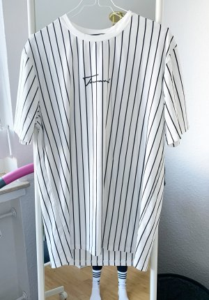 SheIn Oversized shirt zwart-wit