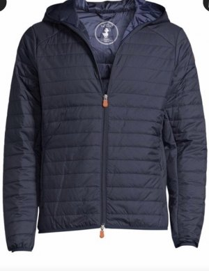 Herrenjacke, Save the duck, Gr. S, NEU, dunkelblau