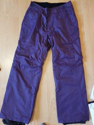 Pantalón de esquí violeta oscuro