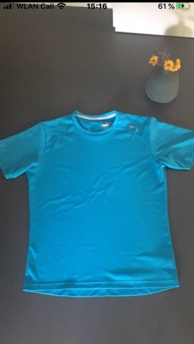 Puma Sportshirt neon blauw