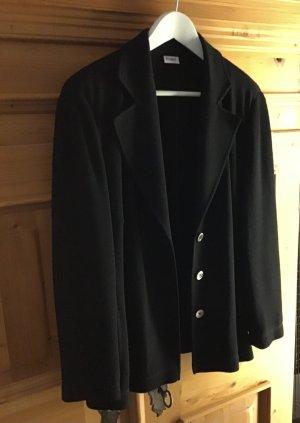 Delmod Blazer in jersey nero Lana