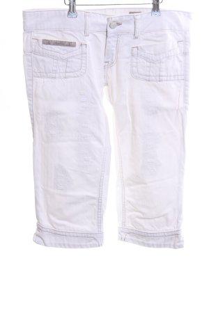 Herrlicher 3/4 Jeans weiß Casual-Look