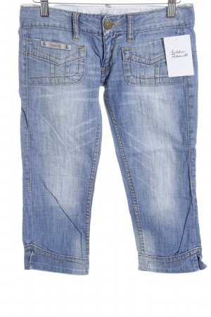 Herrlicher Jeansy 3/4 jasnoniebieski W stylu casual