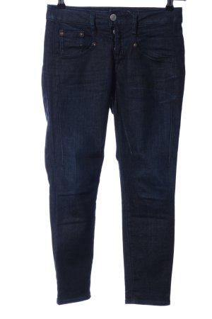 Herrlicher 7/8-Hose blau Casual-Look