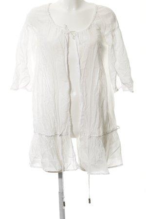 Herrlicher Marynarka koszulowa biały W stylu casual