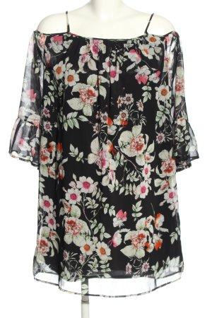 Herrlicher Blusenkleid Blumenmuster Casual-Look