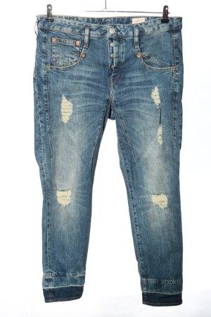 Herrlicher Jeans boyfriend blu stile casual
