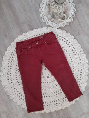 Herrlicher Pantalon capri multicolore polyester