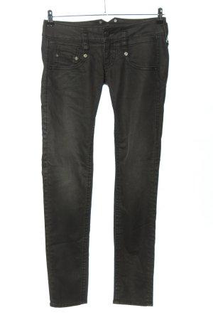 Herrlicher Five-Pocket-Hose schwarz Casual-Look