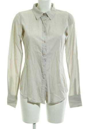 Herrlicher Hemd-Bluse hellgelb klassischer Stil