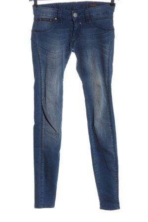 Herrlicher Stretch Jeans blau Casual-Look