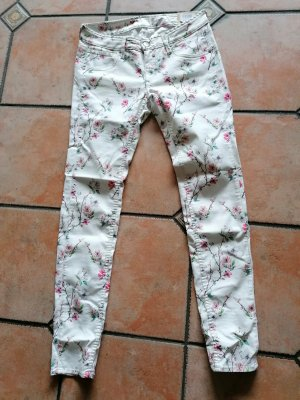 Herrlicher Pantalón elástico blanco