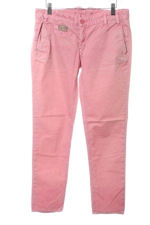 Herrlicher Hüfthose pink Casual-Look