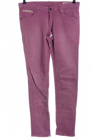Herrlicher Spodnie biodrówki różowy W stylu casual