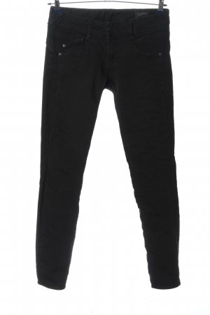 Herrlicher Low Rise Jeans black casual look