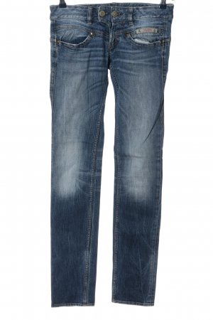 Herrlicher Low Rise jeans blauw casual uitstraling