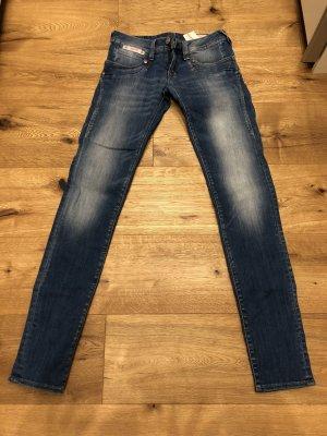 Herrlicher Low Rise jeans blauw