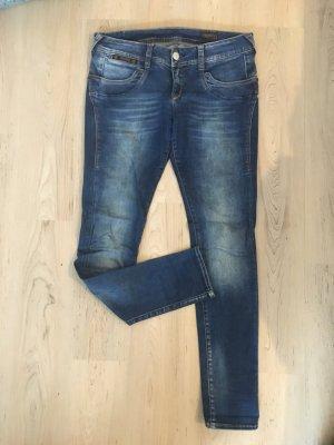 Herrlicher Jeans slim bleuet-gris ardoise