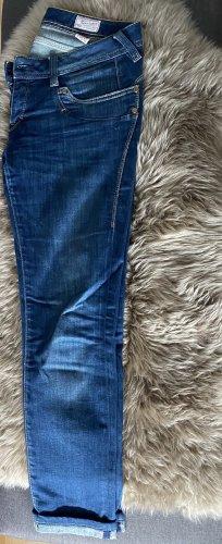 Herrlicher Jeans in Blau Damen Konfektionsgröße 38 länge 30 Hüfthose