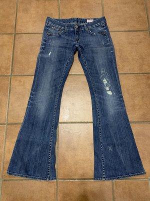 Herrlicher Boot Cut Jeans multicolored