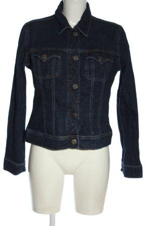 Herrlicher Jeansowa kurtka niebieski W stylu casual