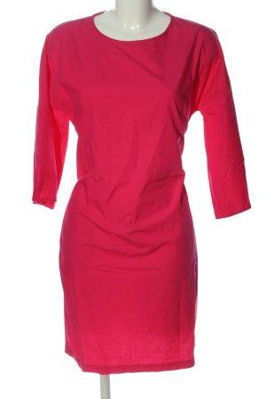 Herrlicher Langarmkleid pink Casual-Look