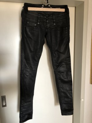 Blaustoff Herrlicher Low Rise jeans zwart