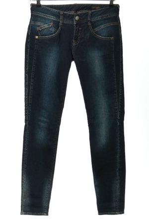 Herrlicher Jeans cigarette bleu style décontracté