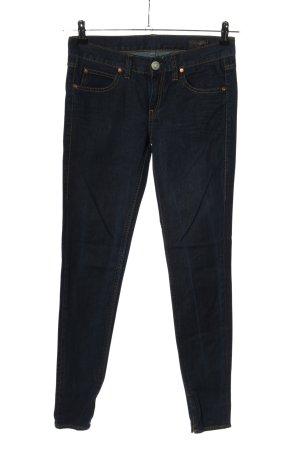 Herrlicher Jeansy o obcisłym kroju niebieski W stylu casual