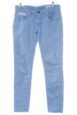 Herrlicher Skinny Jeans hellblau Casual-Look