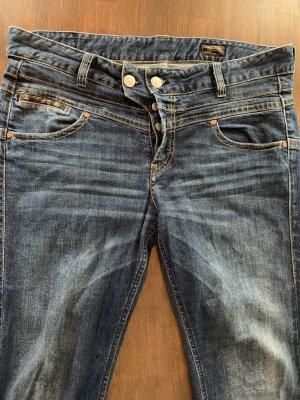 """Herrlicher Slim Fit Jeans """"Bijou Cropped"""""""