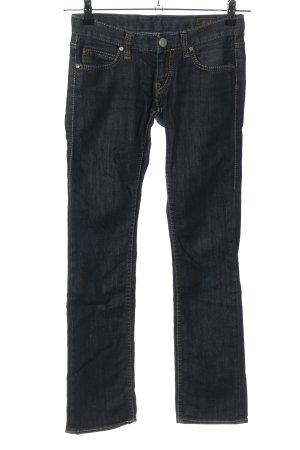 Herrlicher Jeansy z prostymi nogawkami niebieski W stylu casual