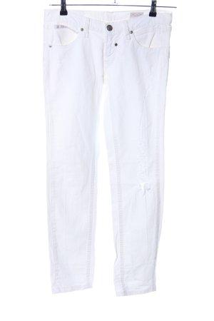 Herrlicher Straight-Leg Jeans weiß Casual-Look