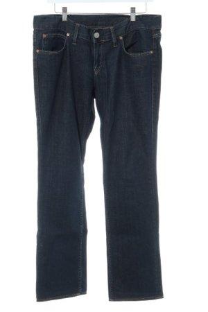 Herrlicher Jeans met rechte pijpen donkerblauw casual uitstraling