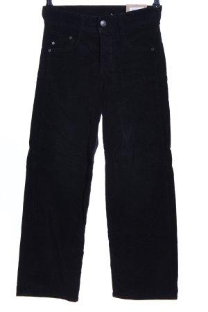 Herrlicher Stretchhose schwarz Casual-Look
