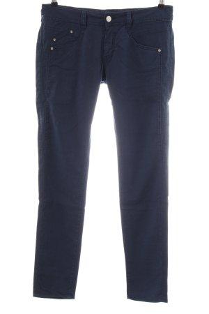 Herrlicher Stretchhose blau Casual-Look