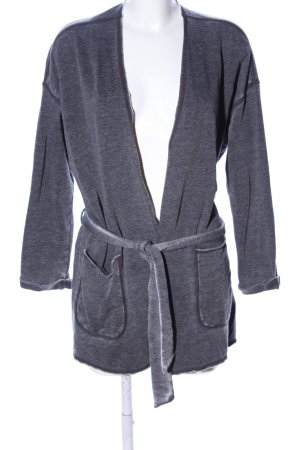 Herrlicher Sweat Jacket light grey flecked casual look