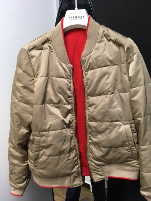 Herrlicher Reversible Jacket gold-colored-red