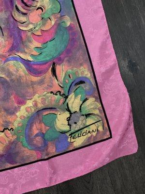 Feliciani Pañoleta multicolor tejido mezclado