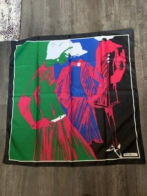 Pañoleta multicolor tejido mezclado