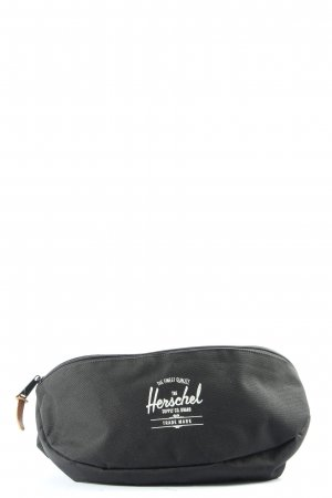 Herschel Bauchtasche schwarz-weiß Motivdruck Casual-Look