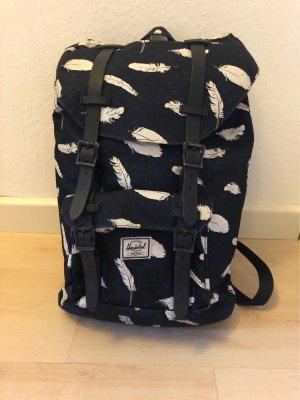 Herschel School Backpack white-blue