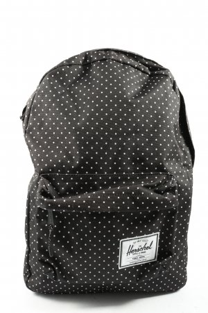 Herschel School Backpack black-white spot pattern casual look