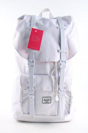 Herschel Mochila escolar blanco look casual