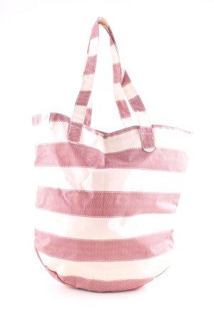 Herschel Schultertasche rot-weiß Streifenmuster Casual-Look