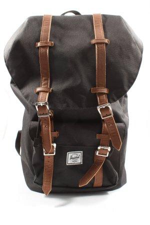 Herschel Daypack light grey-brown street-fashion look