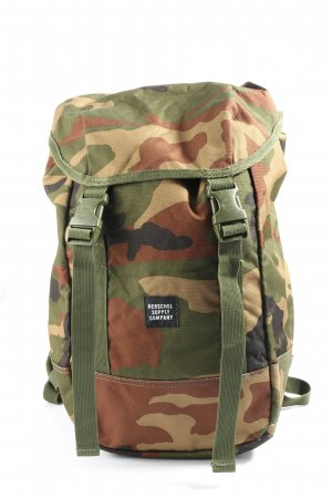 Herschel Trekking Backpack camouflage pattern casual look