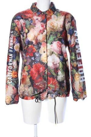 Herschel Windbreaker flower pattern casual look